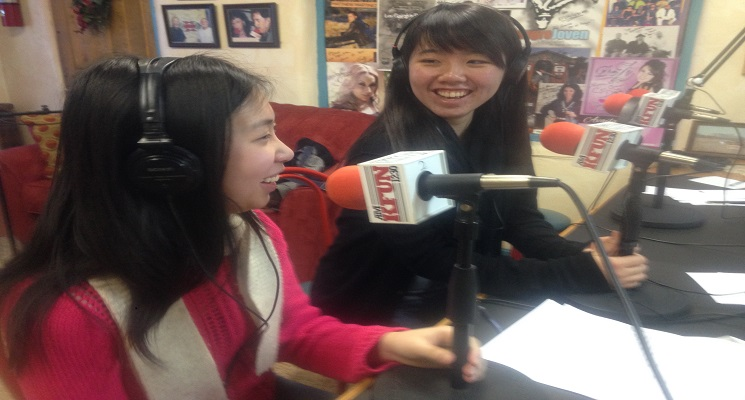 Students at Radio